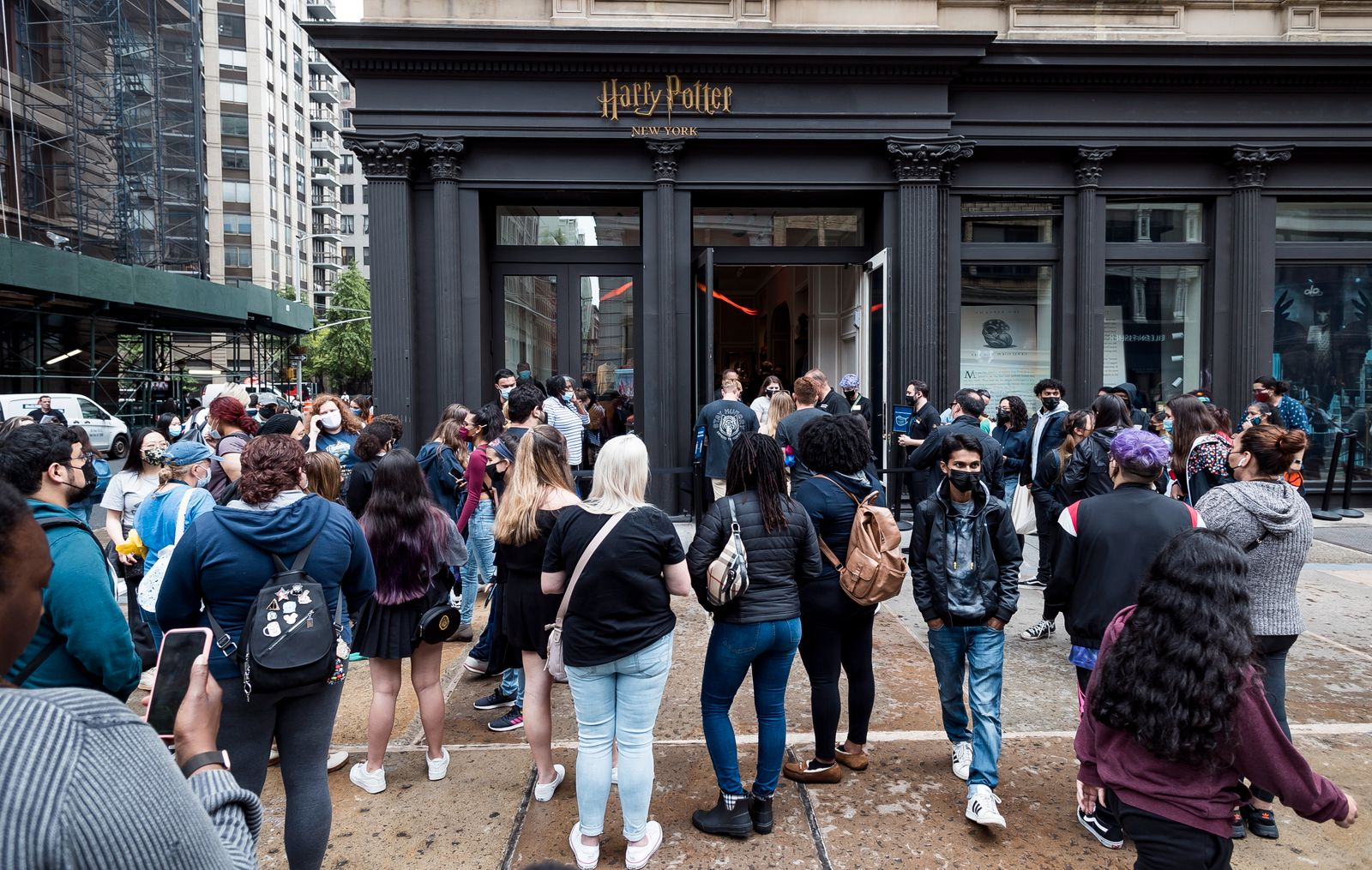 Harry Potter flagship store opens in New York