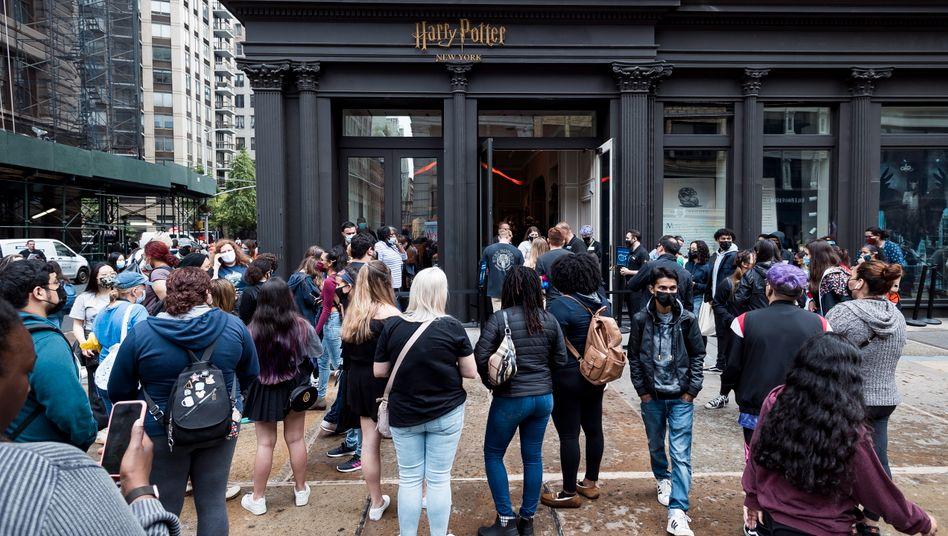 Harry-Potter-Flagshipstore in Manhattan: »Es ist wirklich magisch«