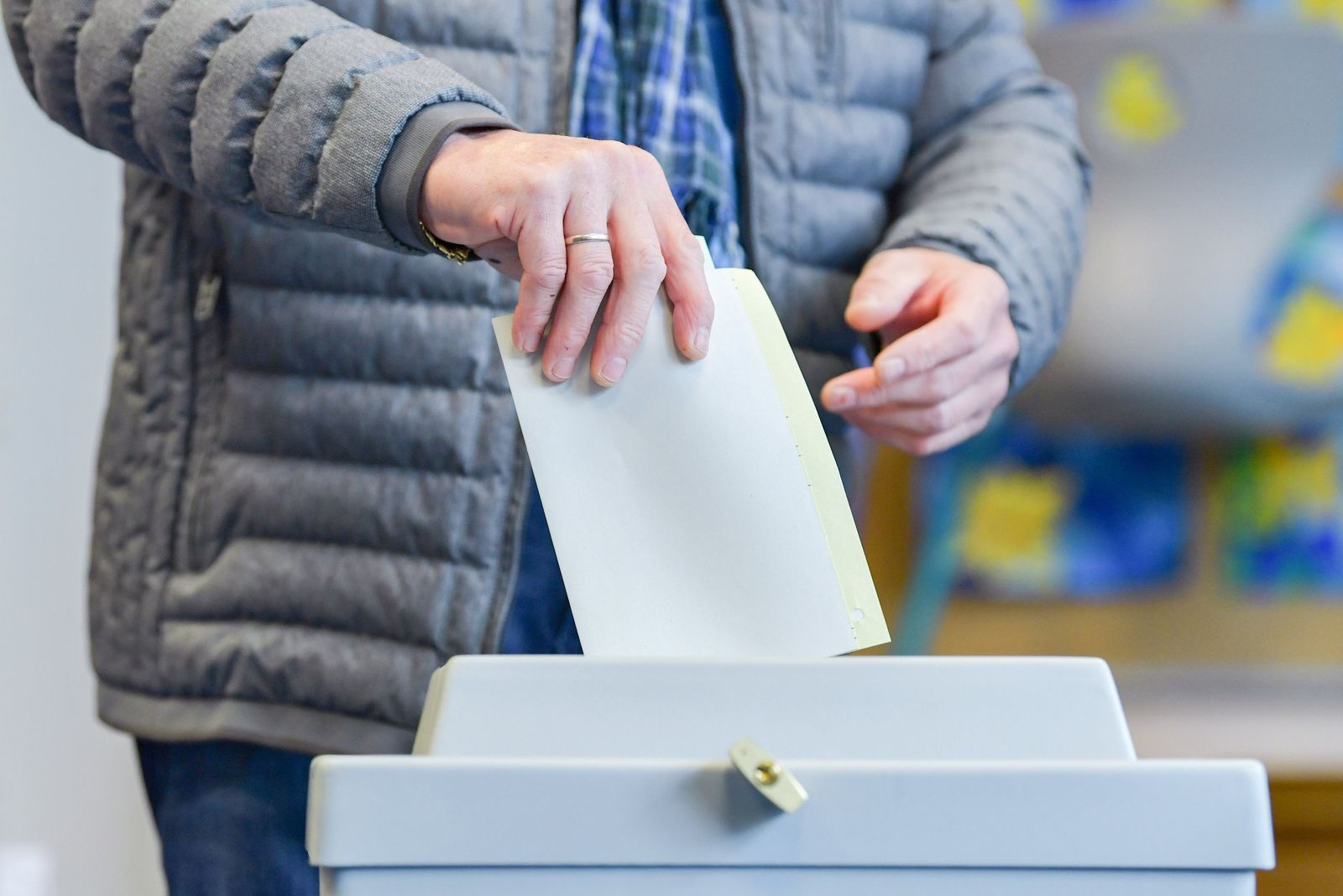 Landtagswahl Hessen - Stimmabgabe