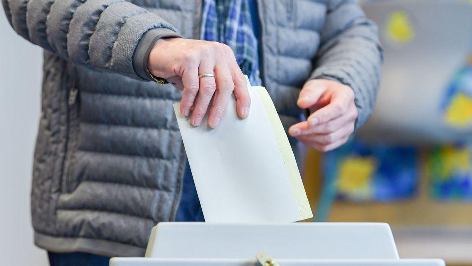 Wähler in Hessen
