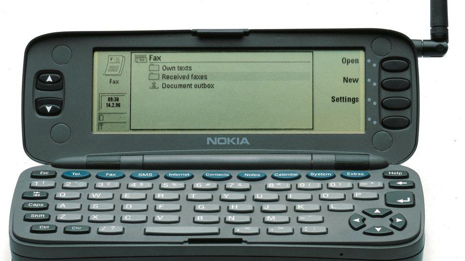 Pressefoto des Nokia Communicator 9000