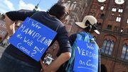 Politiker warnen vor Radikalisierung des Corona-Protests