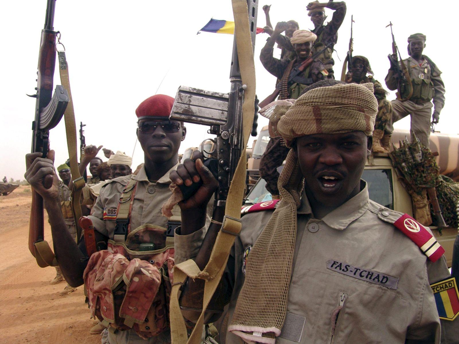 Soldaten Tschad / Mali