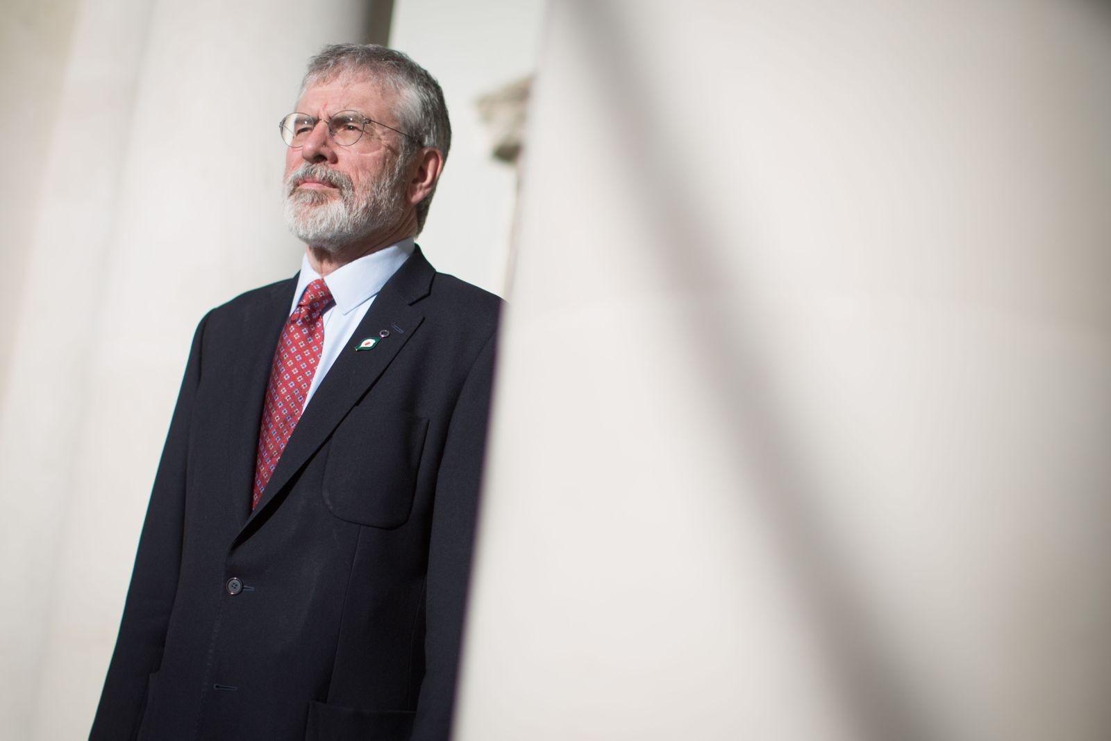 EINMALIGE VERWENDUNG DER SPIEGEL SPIN 15/2018 S.88 Gerry Adams Startbild
