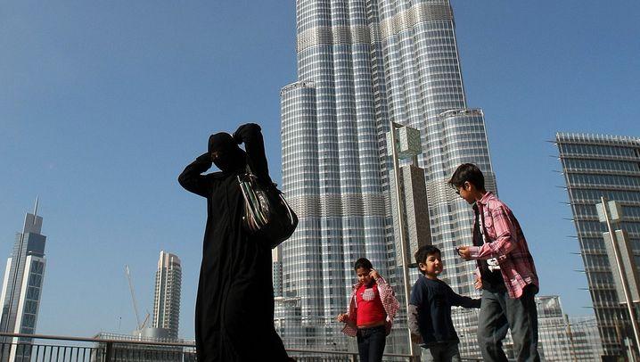 Burj Dubai: Ein Gigant als Touristenmagnet