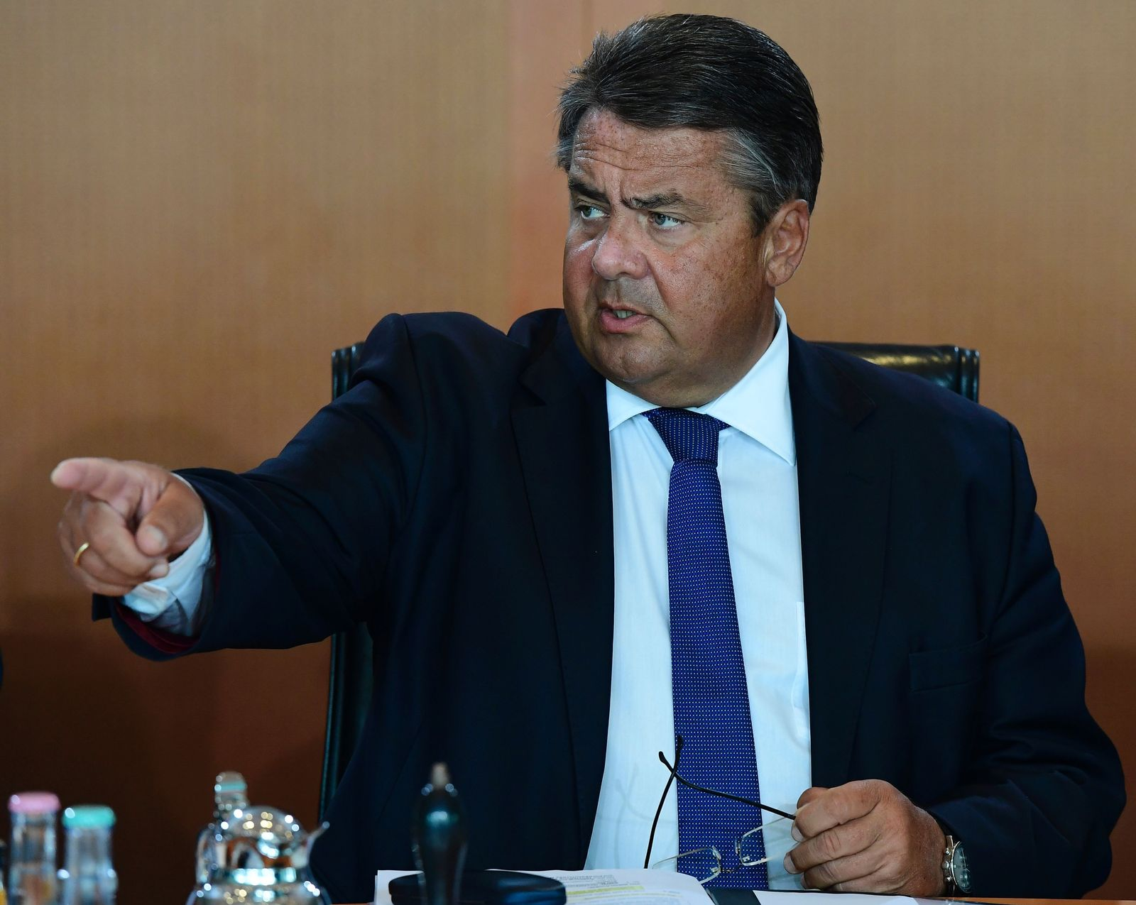 GERMANY-POLITICS Sigmar Gabriel