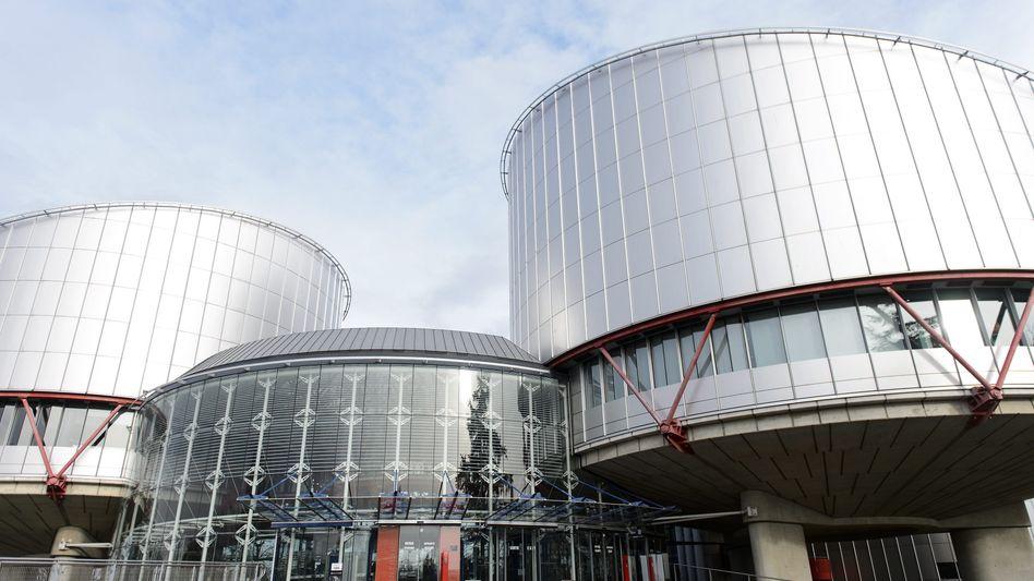Europäischer Gerichtshof für Menschenrechte in Straßburg (Archiv)