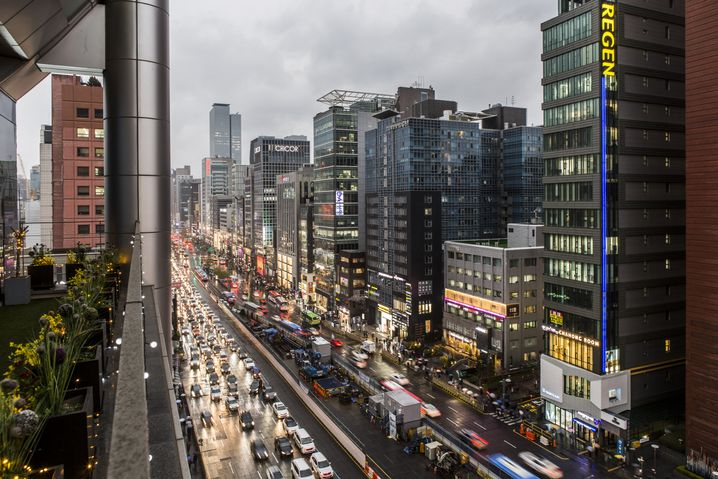The Gangnam district in the capital Seoul is considered the heart of the South Korean beauty industry.