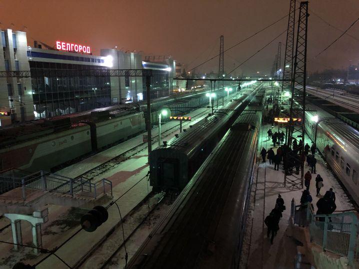 Bahnhof in Belgorod