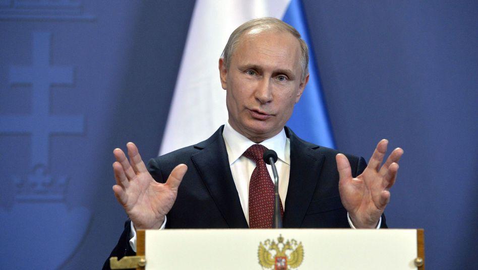Russlands Präsident Wladimir Putin: Das Auswärtige Amt hat Antworten auf russische Behauptungen erstellt