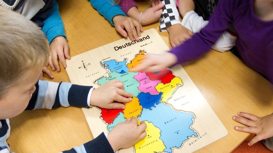 Kinder in einer Kita in Osnabrück: Ausbau der Kita-Plätze wegen klammer Kassen in Gefahr