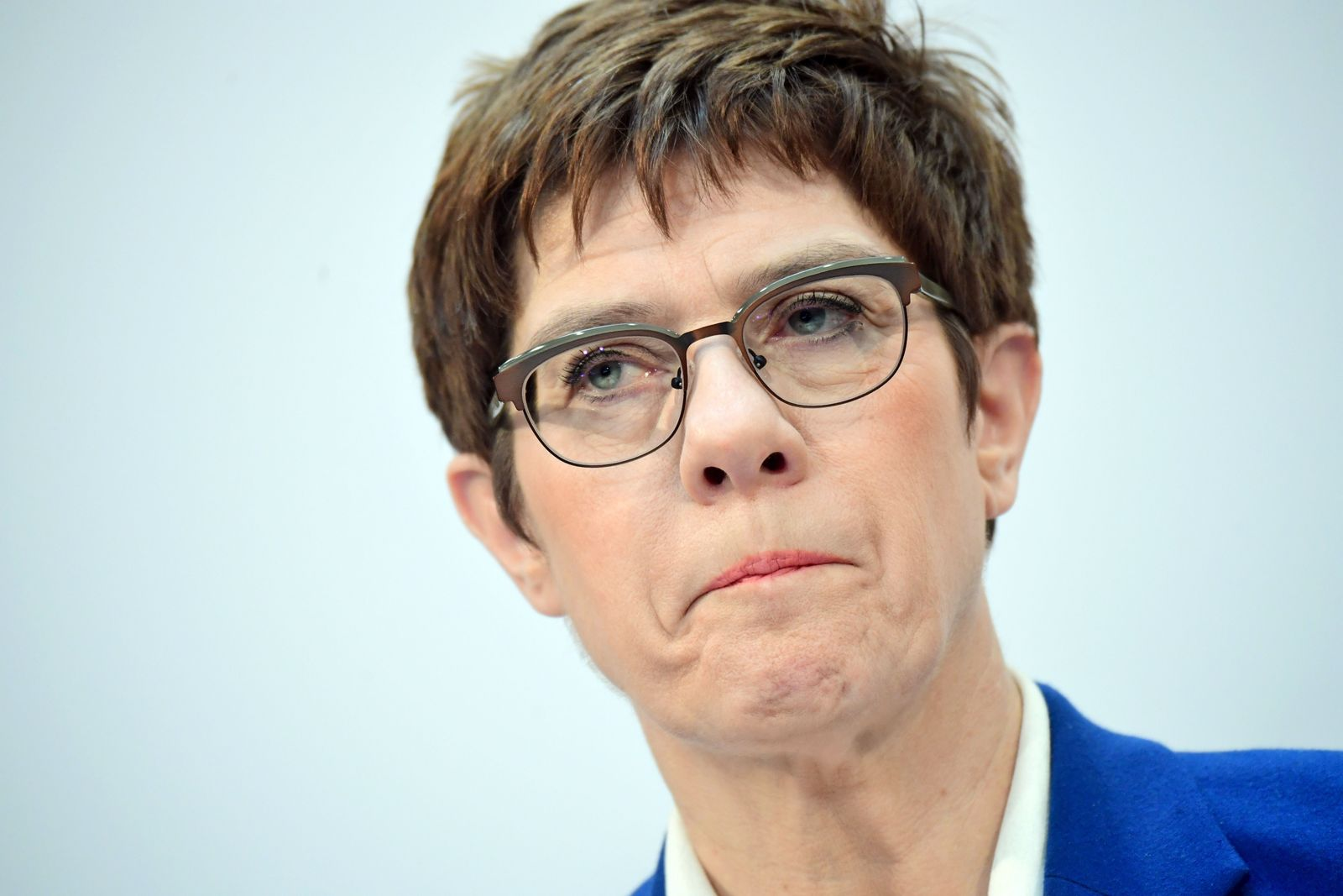 Annegret Kramp-Karrenbauer announces resignation from party chair, Berlin, Germany - 10 Feb 2020