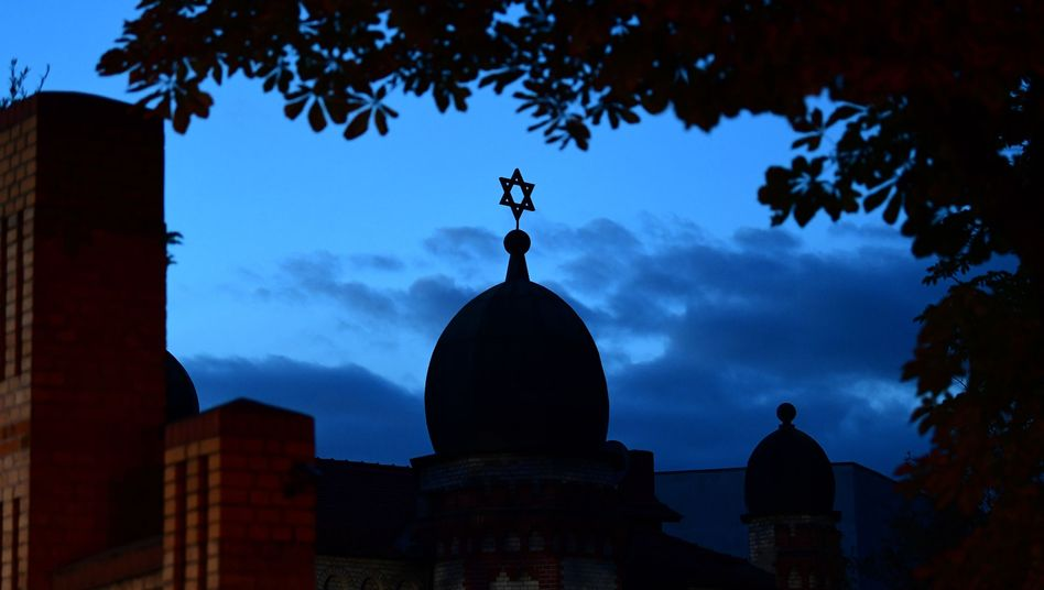 Schauplatz des Anschlags vom Mittwoch: die Synagoge von Halle (Saale)
