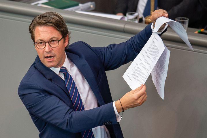 Andreas Scheuer (CSU): Neues Schlusslicht beim SPON-Regierungsmonitor
