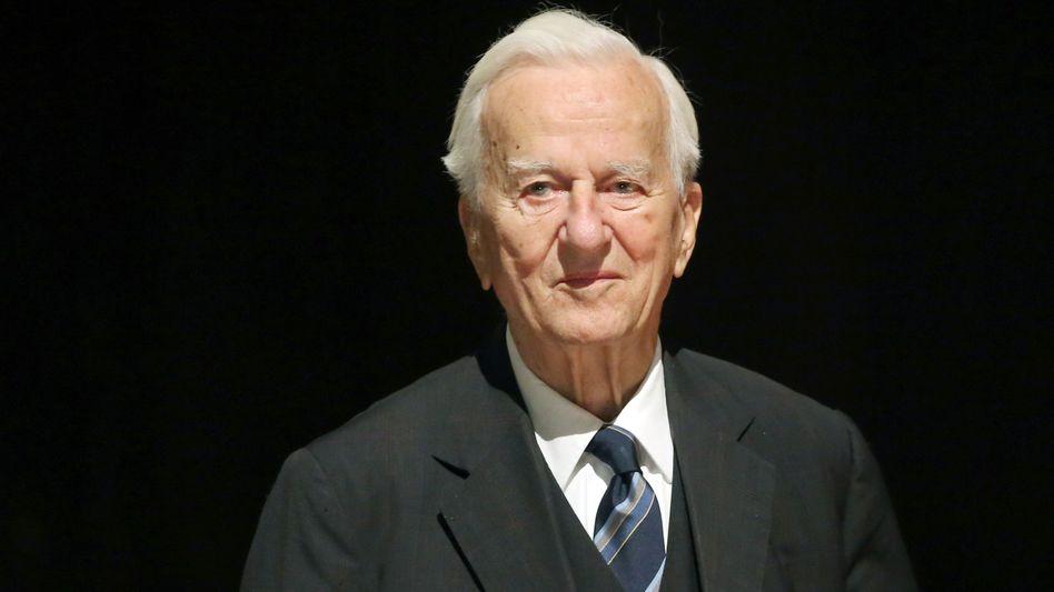 Altbundespräsident: Richard von Weizsäcker ist tot