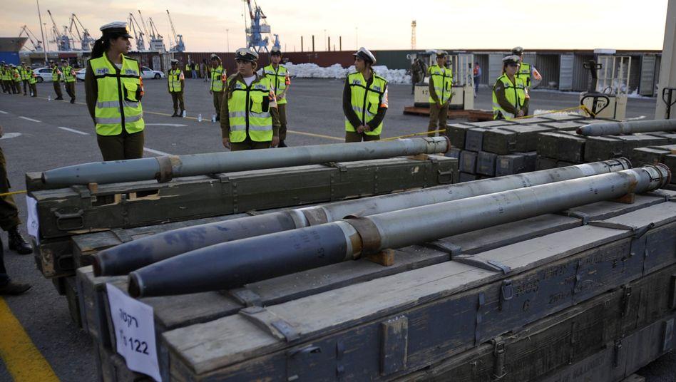 Waffenlieferung: Hisbollah und Iran wollen mit Schmuggel-Schiff nichts zu tun haben