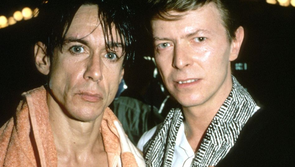 """Iggy Pop und David Bowie in den Achtzigern: """"Er war der Beste"""""""