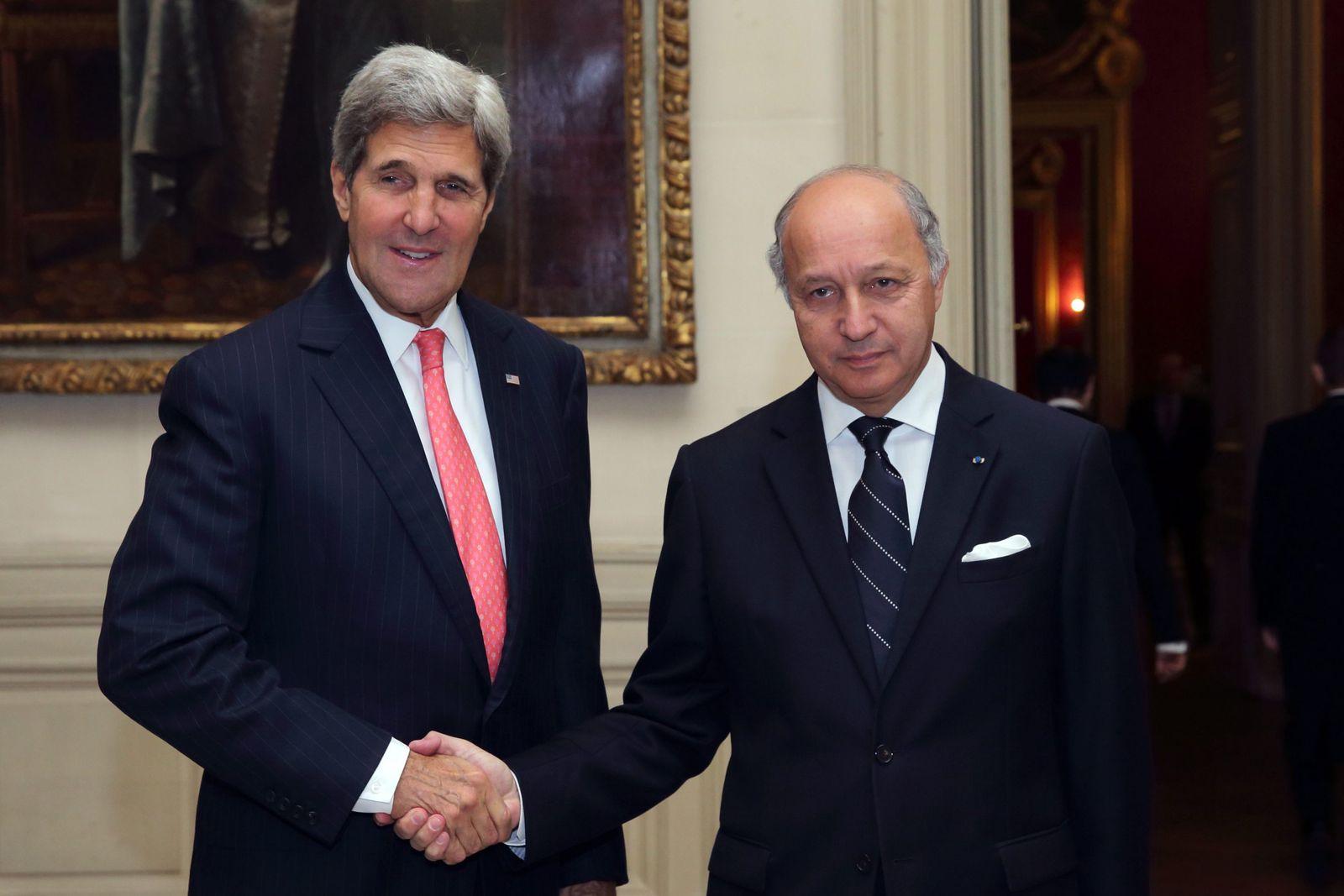 US Secretary of State Kerry in Paris