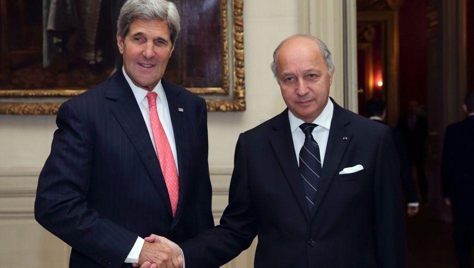 """Außenminister Kerry und Fabius: """"Teheran ist nicht offen für Geschäfte"""""""