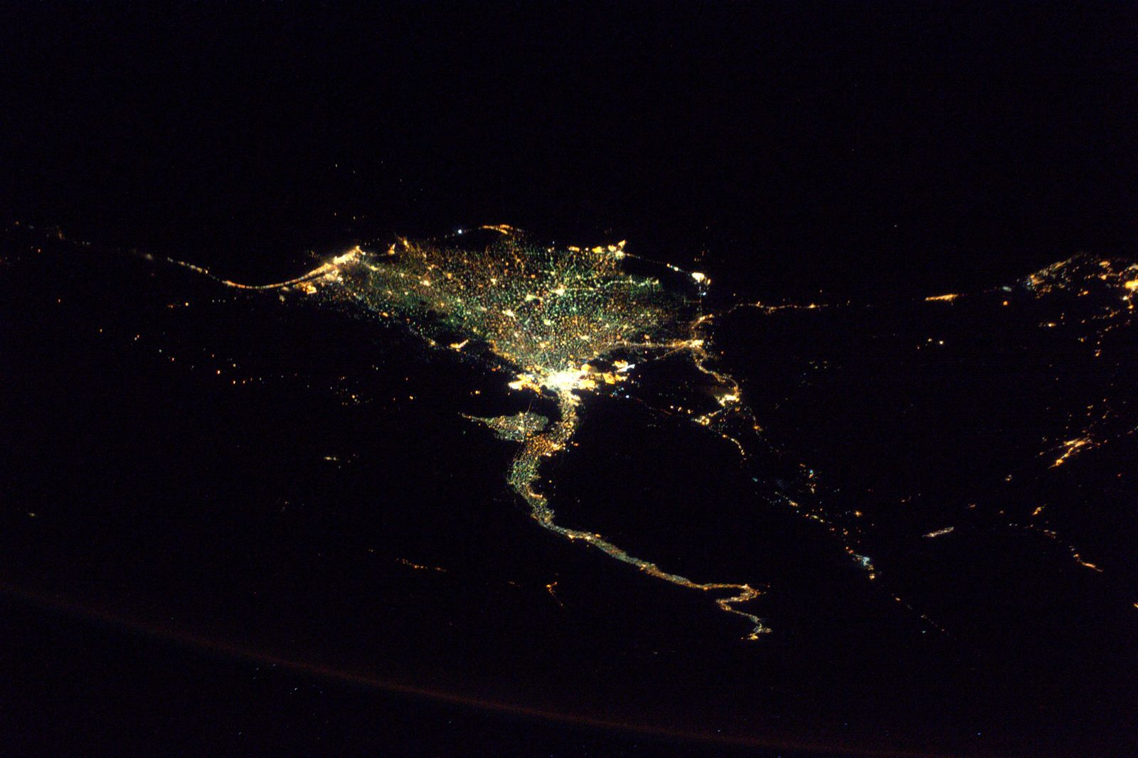 SPACE-SCIENCE-EGYPT-NILE