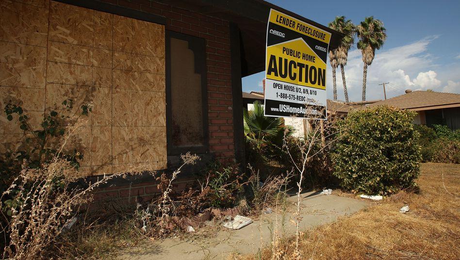 Geräumtes Haus in Kalifornien (2008): Erinnerungen an die Finanzkrise werden wach