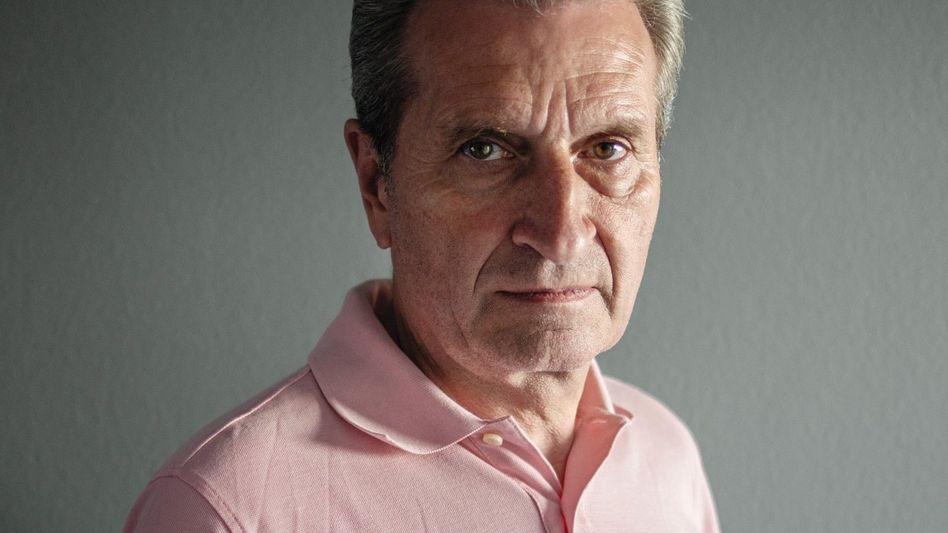 CDU-Politiker Oettinger: »Sollen wir jetzt unsere Prinzipien aufgeben?«