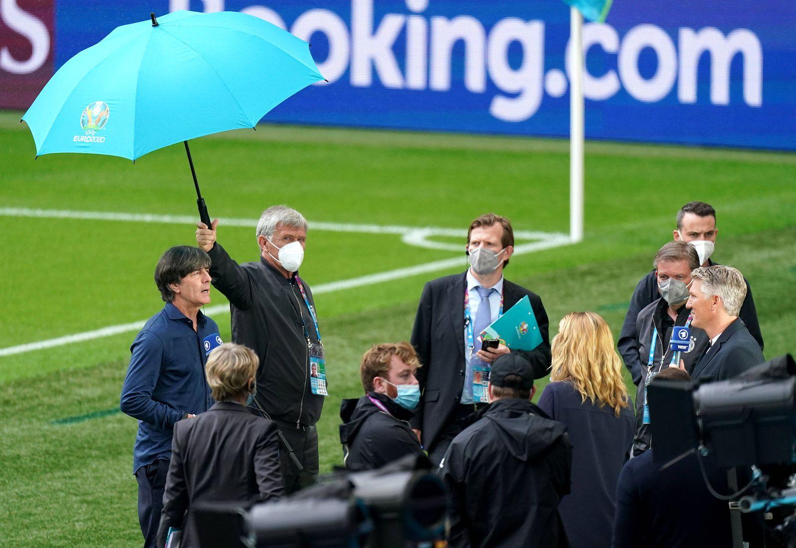 England v Germany - UEFA EURO, EM, Europameisterschaft,Fussball 2020 - Round of 16 - Wembley Stadium Germany manager Joa