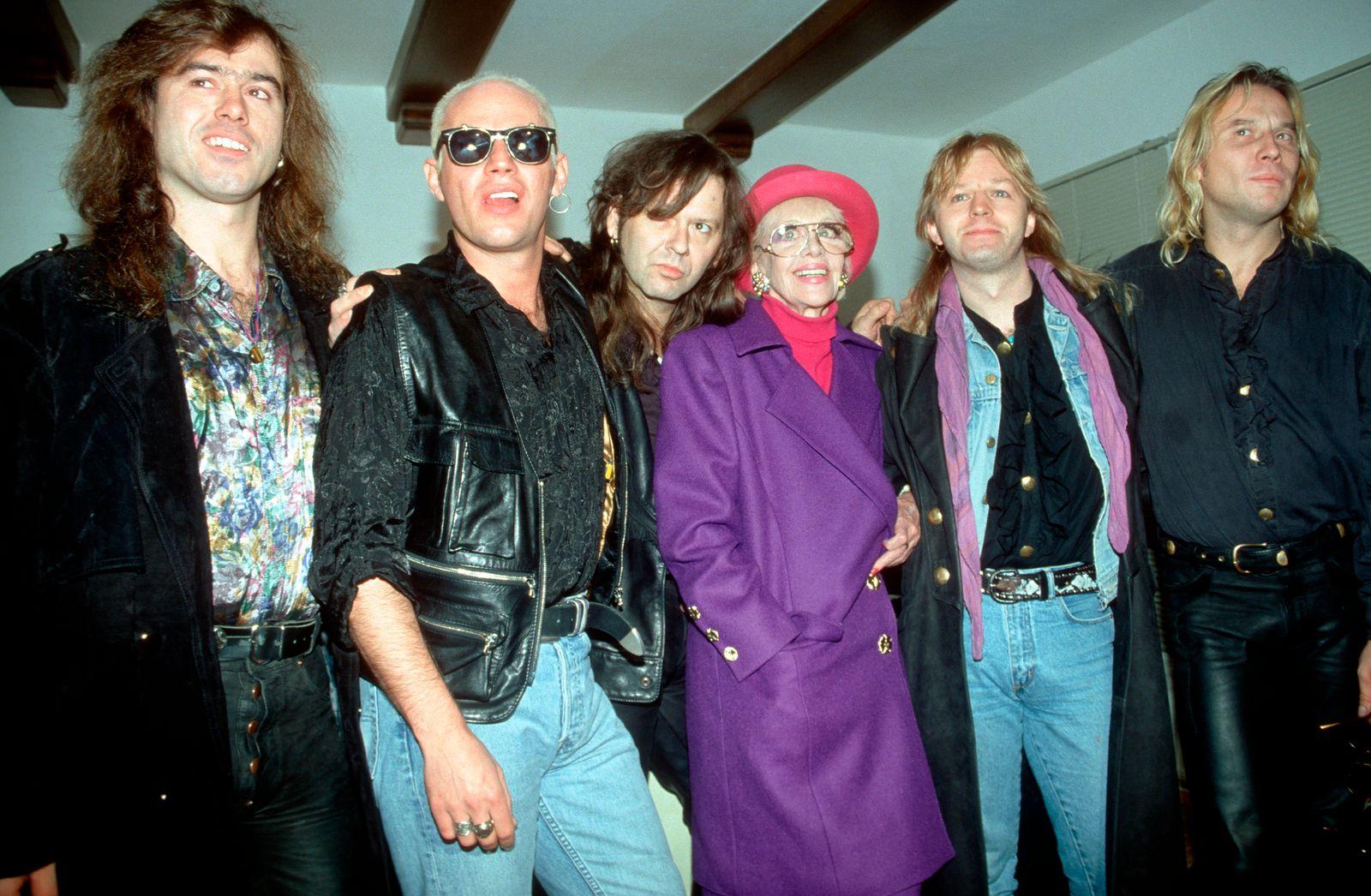 Hildegard Knef und Extrabreit Dezember 1992
