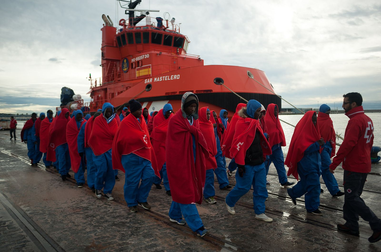 Flüchtlinge/ Malaga/ Rettung/ Alboran