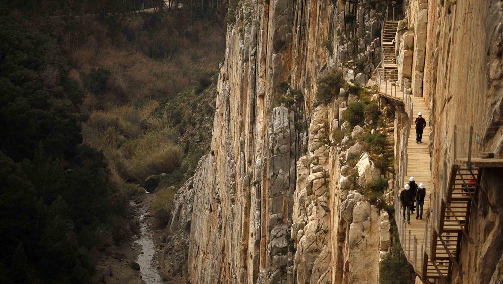 Caminito del Rey: Brettersteig über der Schlucht