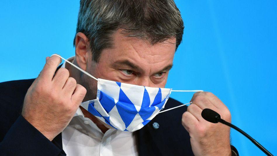 Endlager is coming: Bayerns Ministerpräsident Markus Söder (CSU)