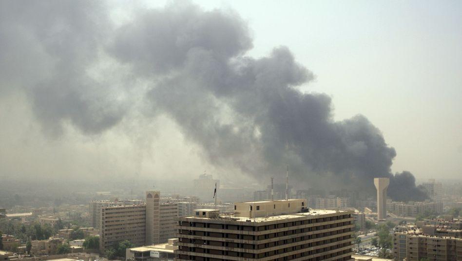 Anschlag in Bagdad: Hunderte Iraker sind in den vergangenen Wochen getötet worden