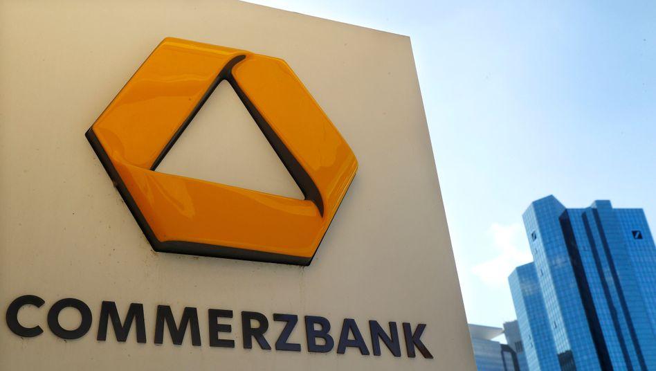 Commerzbank-Logo: IT-Panne mit Nachwirkungen