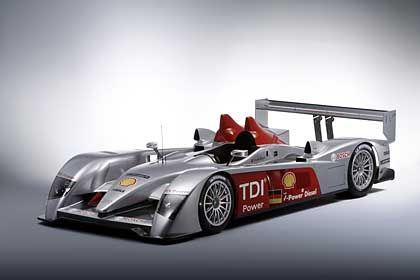 Audi R10: Le-Mans-Renner mit Ölbrenner