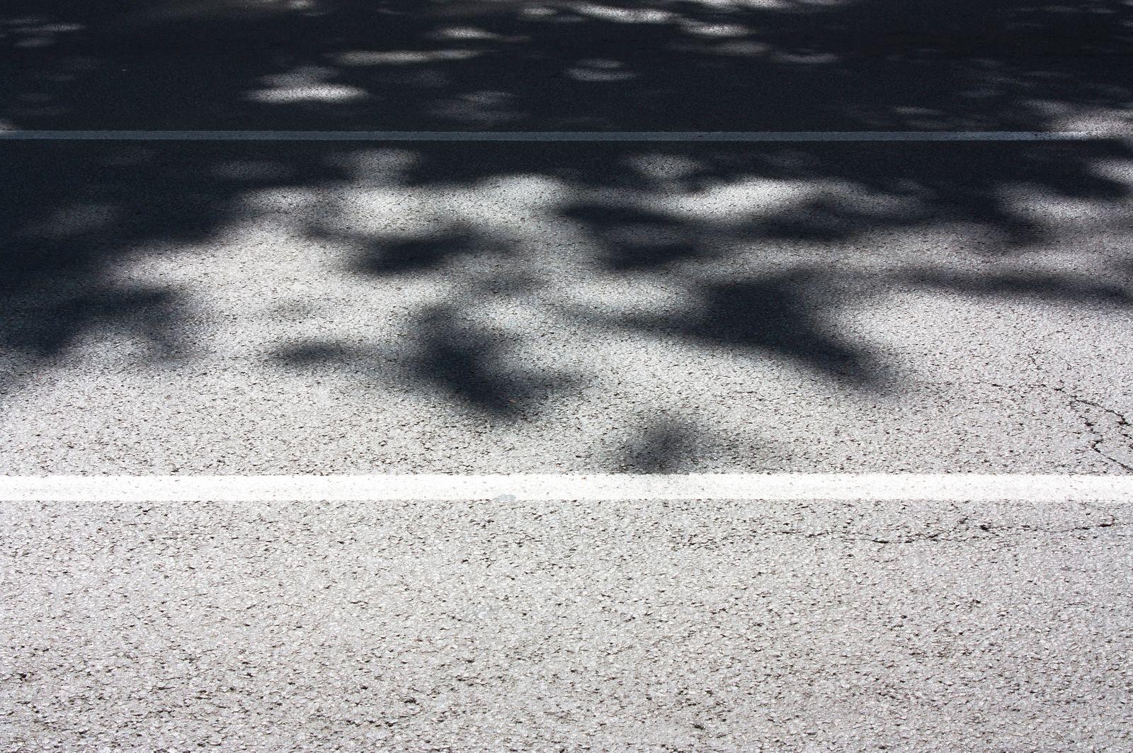 City street summer shadows