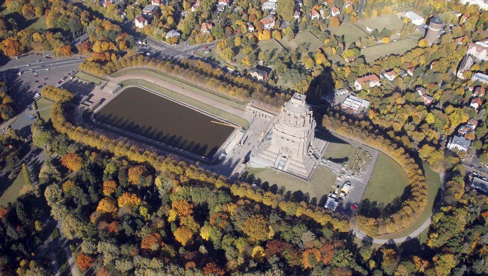 Völkerschlachtdenkmal in Leipzig: Pyramide des Patrioten