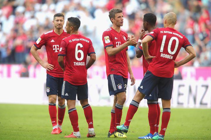 Gedrückte Stimmung bei den Bayern