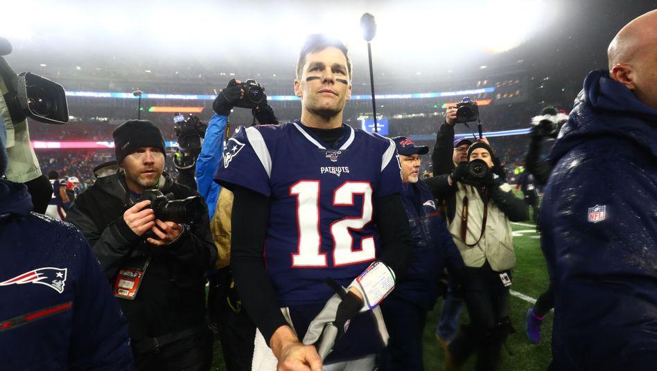 Seit dem Jahr 2000 spielt Tom Brady für die Patriots
