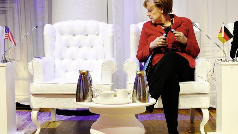 Kanzlerin Merkel Der Freund ist unheimlich geworden