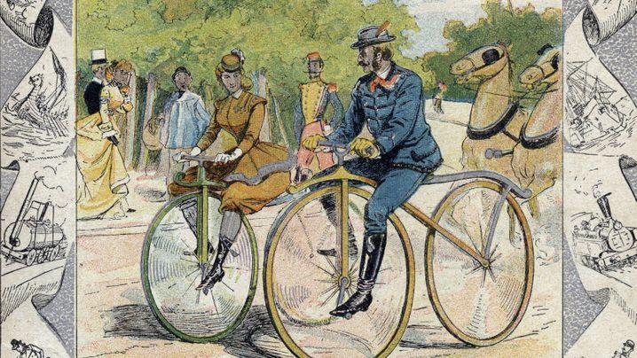 Radler: E-Bikes - die Geschichte der elektrischen Trethilfe