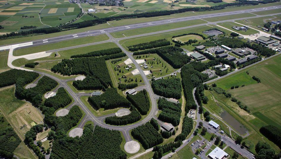 Luftaufnahme vom Fliegerhorst Büchel (Archiv)