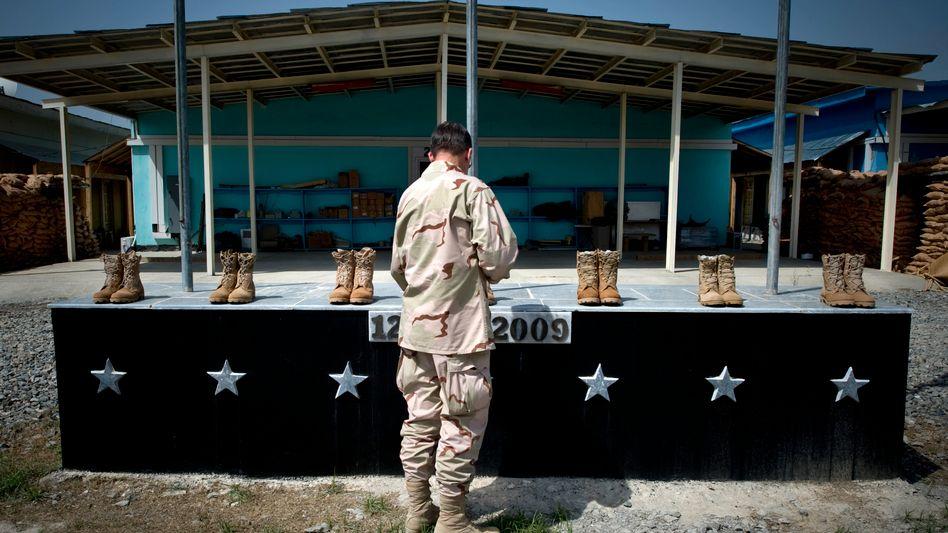 Gedenken an den Camp-Chapman-Anschlag in Afghanistan