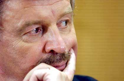 Die Justiz nimmt ihn ins Visier: Jürgen Möllemann