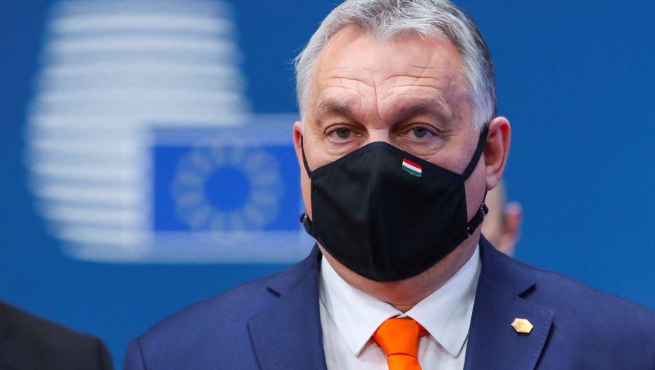 Ungarns Premier Viktor Orbán wollte dem EU-Haushalt lange nicht zustimmen