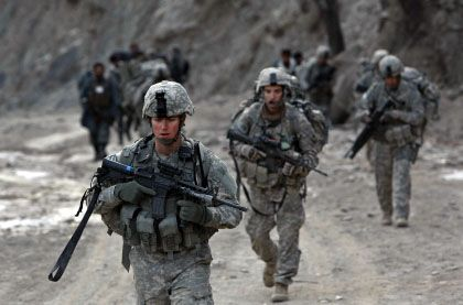 """US Army soldiers in Afghanistan: """"The Obama administration is trying not to repeat the mistakes of the Bush years."""""""