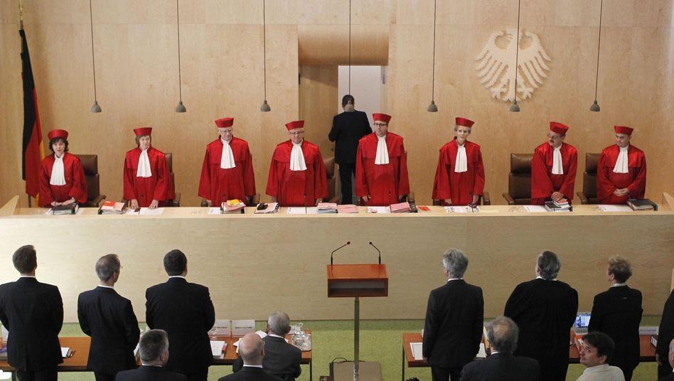 Karlsruher Richter: Entscheidung am 12. September