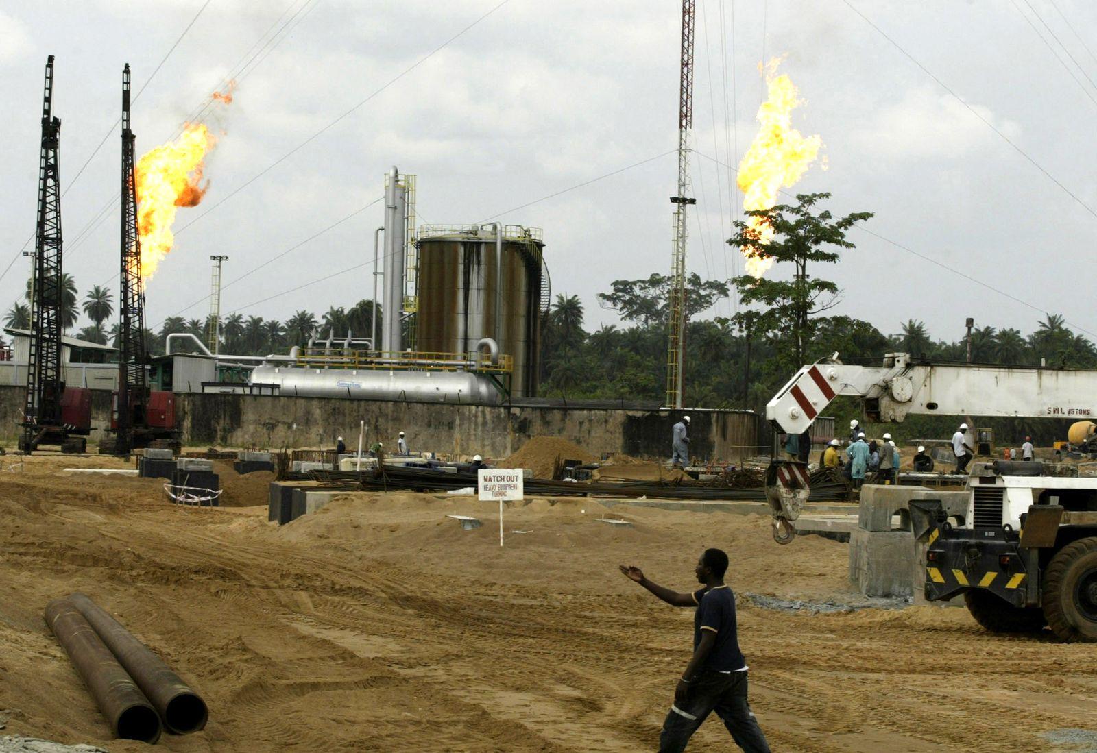 Nigeria / Niger Delta / Ölförderung