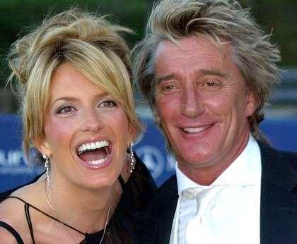 """Rod Stewart mit seiner neuen Freundin Penny Lancaster: """"Das bin ich ihr schuldig"""""""