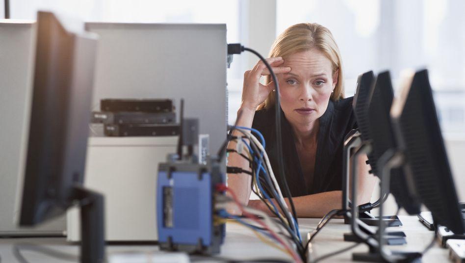Angestellte: Geben sich Frauen mit weniger Lohn zufrieden?