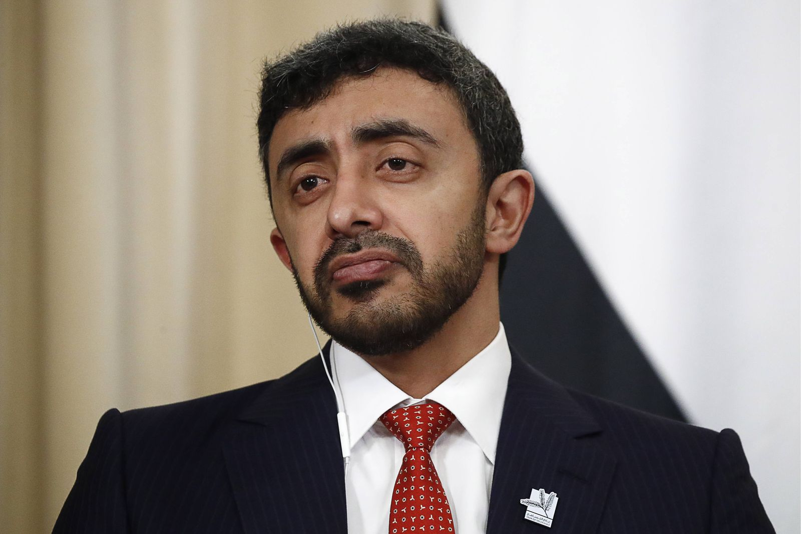 MOSCOW RUSSIA JUNE 26 2019 The United Arab Emirates Minister of Foreign Affairs and Internatio